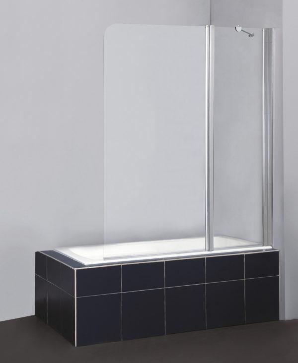 Шторка на ванну BelBagno Sela V 11 120/140 C Cr