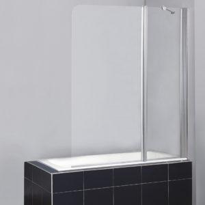 Шторка на ванну BelBagno Sela V 11 120/140 Ch Cr R