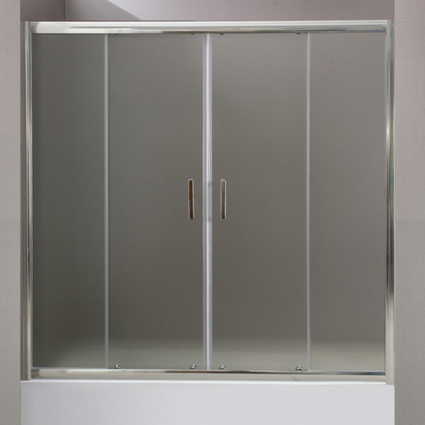 Шторка на ванну BelBagno Uno VF 2 150/145 P Cr