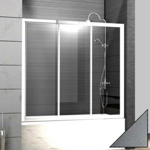 Шторка на ванну Cezares Family B V 3 150/140 P Cr