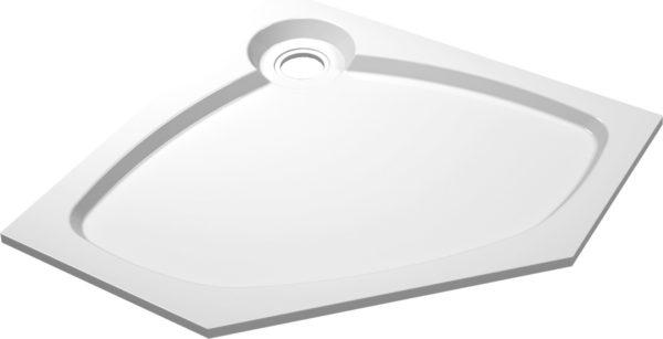 Поддон для душа Cezares Tray P 90 пятиугольный