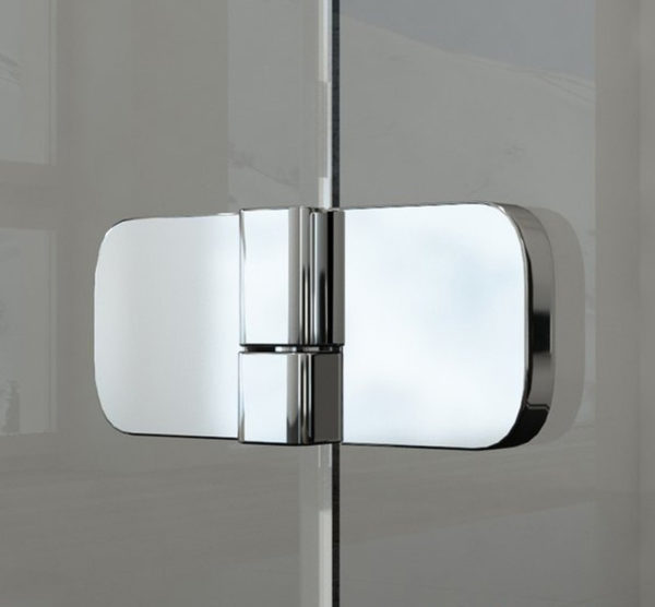 Шторка на ванну Ravak BVS2-100 L Transparent, фурнитура хром