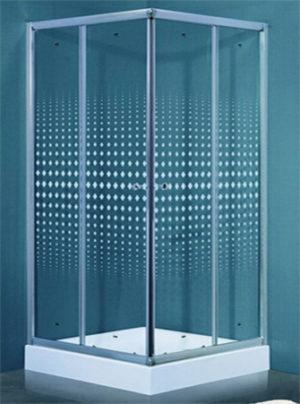 Душевой уголок Timo TL-1102 Romb Glass с поддоном