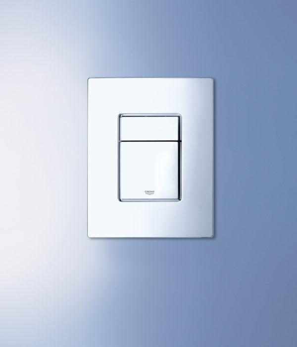 Кнопка смыва Grohe Skate Cosmopolitan 38732SH0 белая