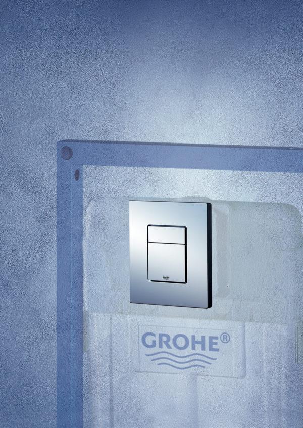 Кнопка смыва Grohe Skate Cosmopolitan 38732000 хром