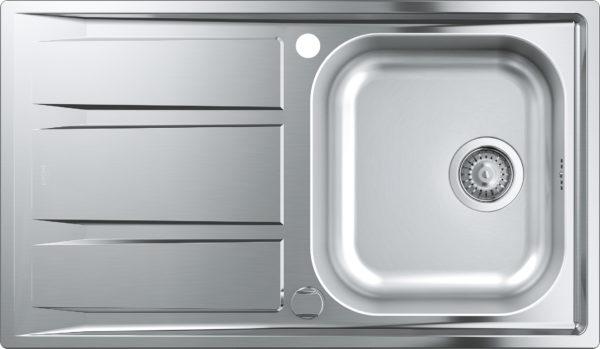 Комплект Grohe Concetto 31570SD0 Мойка кухонная K400 31566SD0 + Смеситель Concetto 32663001 для кухонной мойк