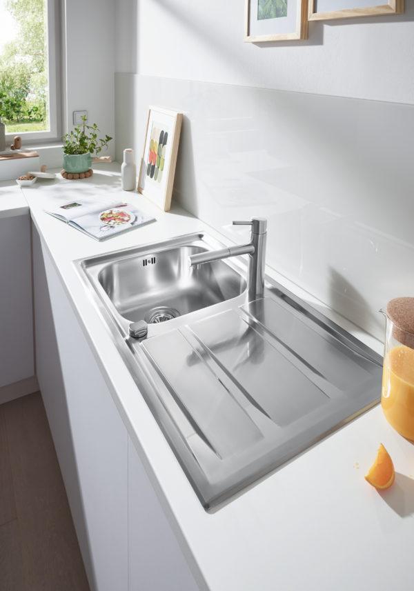 Мойка кухонная Grohe K400+ 31568SD0