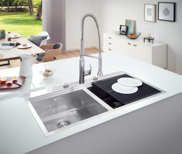 Мойка кухонная Grohe K800 31585SD0