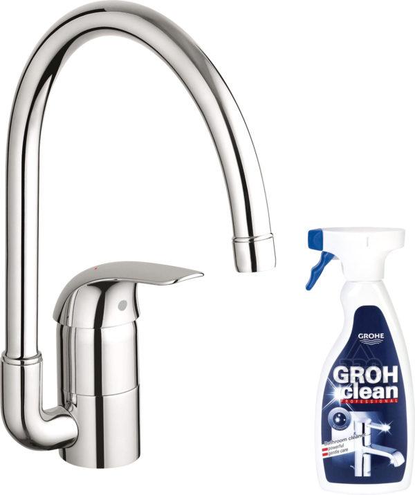 Смеситель Grohe Euroeco 32752000 для кухонной мойки