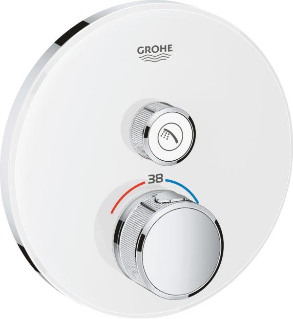 Термостат Grohe Grohtherm SmartControl 29150LS0 для душа, moon white