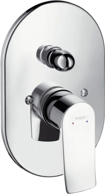 Смеситель Hansgrohe Metris 31484000 для ванны с душем