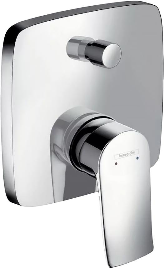 Смеситель Hansgrohe Metris 31454000 для ванны с душем