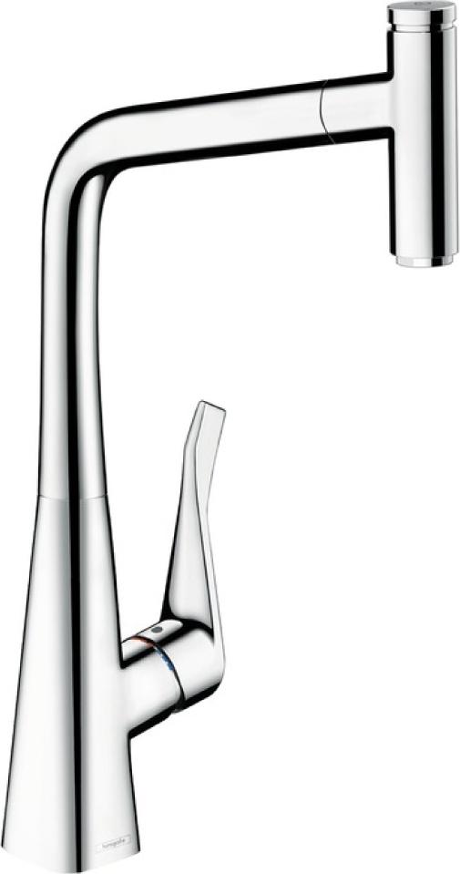 Смеситель Hansgrohe Metris Select 14884000 для кухонной мойки