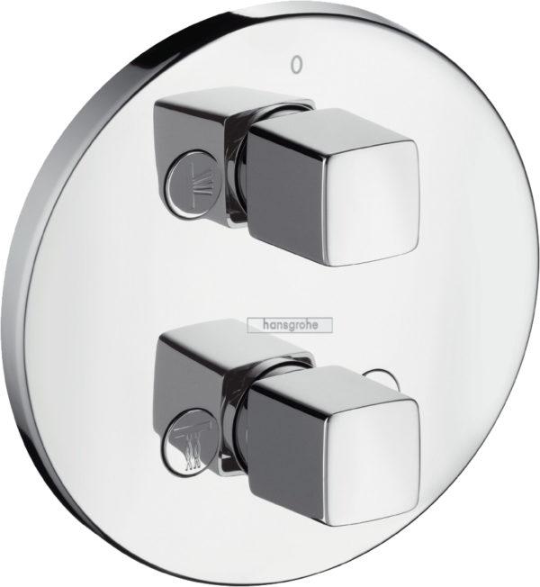 Переключатель потоков Hansgrohe Metris iControl E 31958000 на три потребителя