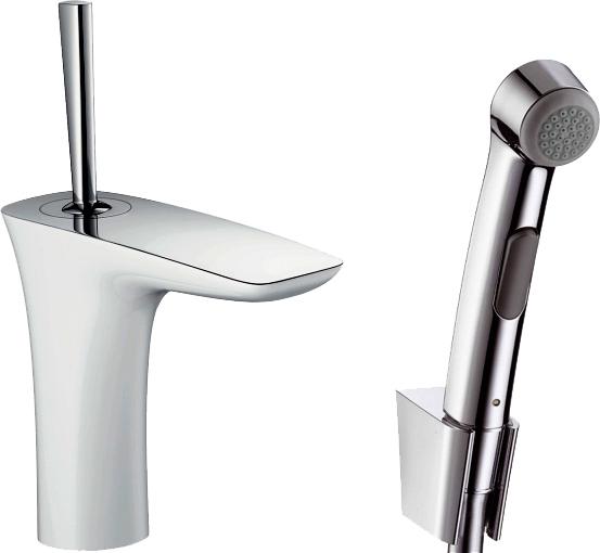 Смеситель Hansgrohe PuraVida 15275400 для раковины с гигиеническим душем