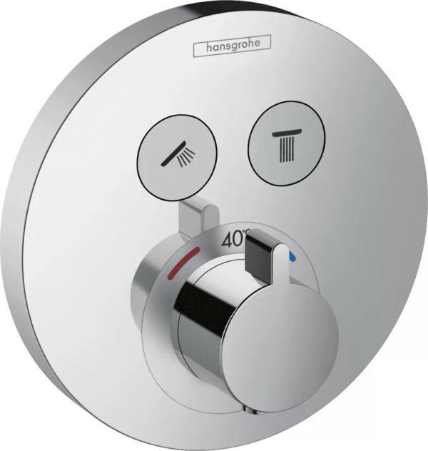 Термостат Hansgrohe ShowerSelect S 15743000 для ванны с душем