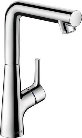 Смеситель Hansgrohe Talis S 72105000 для раковины, с донным клапаном
