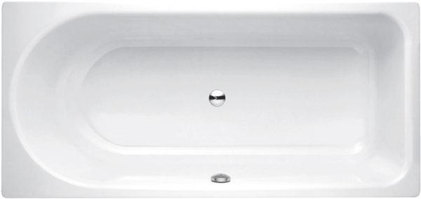 Стальная ванна Bette Ocean 8855 перелив спереди