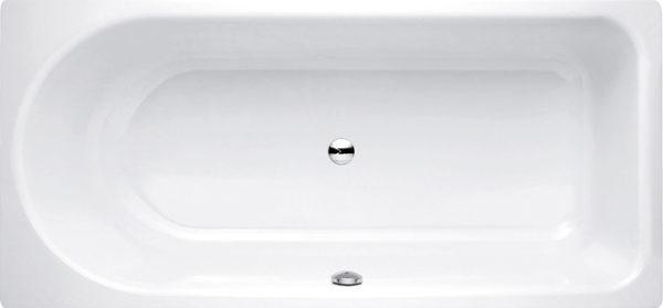Стальная ванна Bette Ocean 8857 PLUS, AR перелив спереди