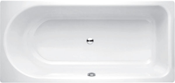 Стальная ванна Bette Ocean 8857 PLUS перелив спереди