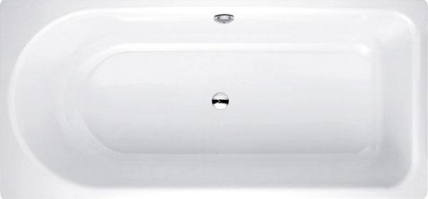 Стальная ванна Bette Ocean 8854 PLUS, AR перелив сзади