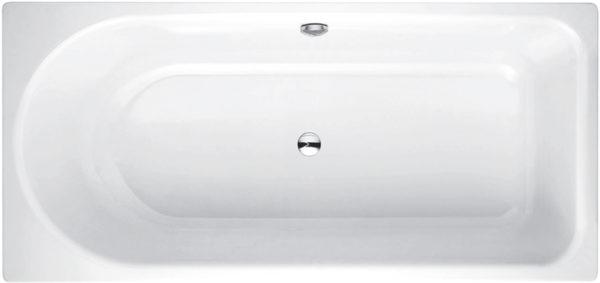 Стальная ванна Bette Ocean 8856 перелив сзади