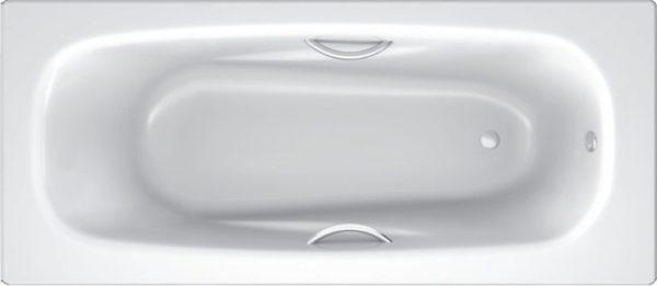 Стальная ванна BLB Anatomica B75L handles