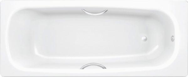 Стальная ванна BLB Universal B75H handles