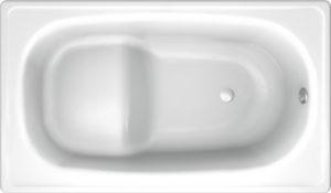 Стальная ванна Koller Pool 105x70 с сиденьем