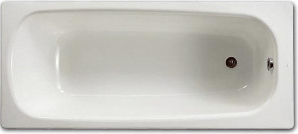 Стальная ванна Roca Contesa 160 см