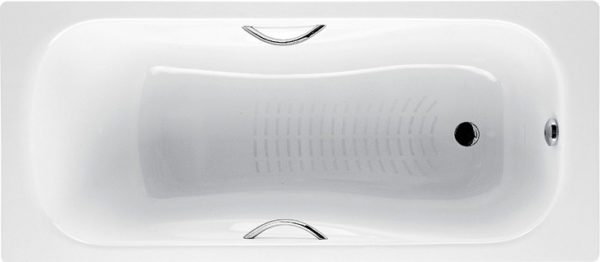 Стальная ванна Roca Princess-N 170 см
