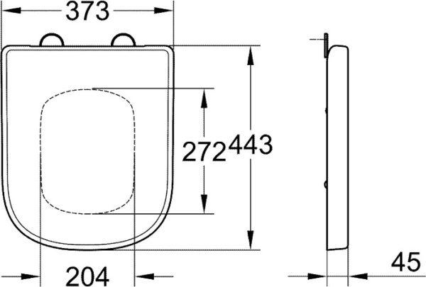 Унитаз подвесной Grohe Euro Ceramic 3932800H