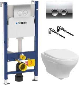 Комплект Gustavsberg Estetic Hygienic Flush белый