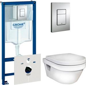 Комплект Gustavsberg Hygienic Flush WWC 5G84HR01