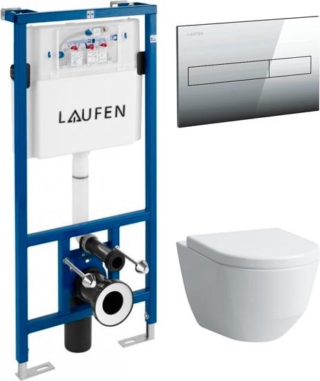 Комплект Laufen Pro Rimless 8.2096.6.000.000.1