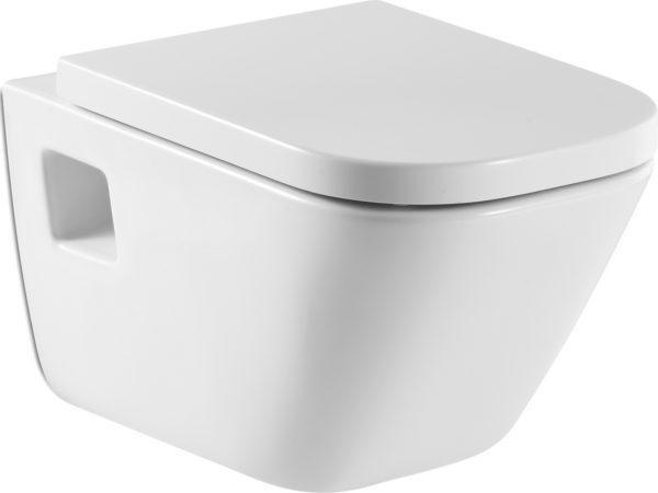 Комплект Roca Gap 346477000 с крышкой-сиденьем с микролифтом, инсталляцией и кнопкой смыва