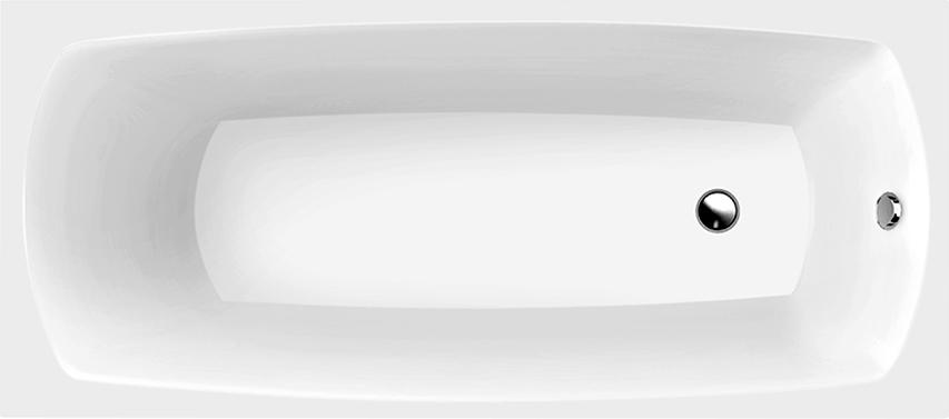 Ванна из искусственного камня Marmo Bagno Элза 180x75