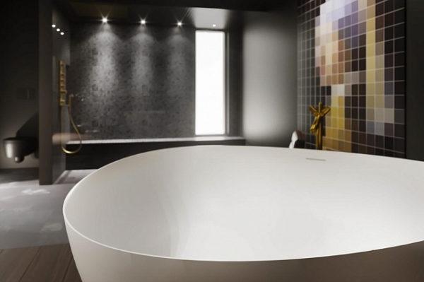 Ванна из искусственного камня Riho Oviedo