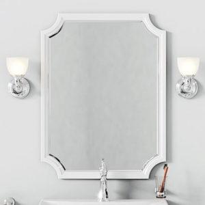 Зеркало Aqwella 5 stars LaDonna белое