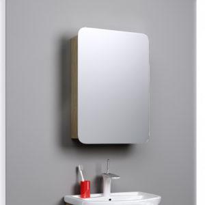 Зеркало-шкаф Aqwella Вега 55 дуб сонома