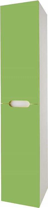 Шкаф-пенал Dreja Color зеленый глянец R